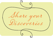 Share your Discoveries